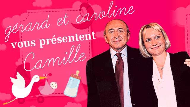 Gérard et Caroline Collomb présentent Camille