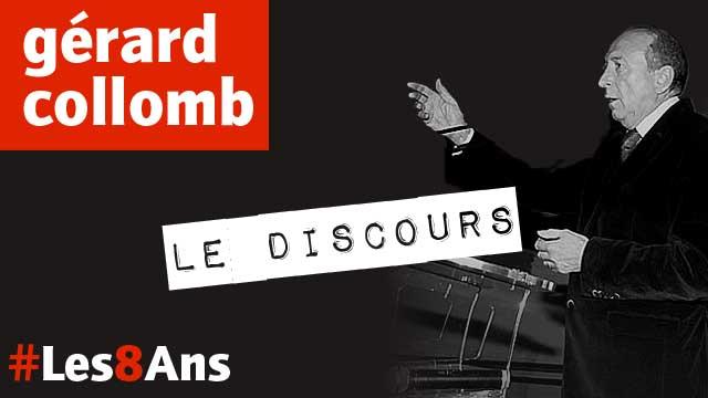 Gérard Collomb aux 8 ans de Lyon People