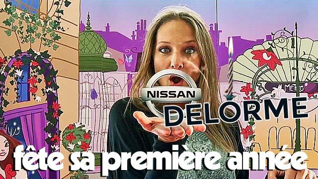 Nissan Delorme fête son premier anniversaire