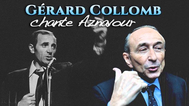 Gérard Collomb chante Aznavour