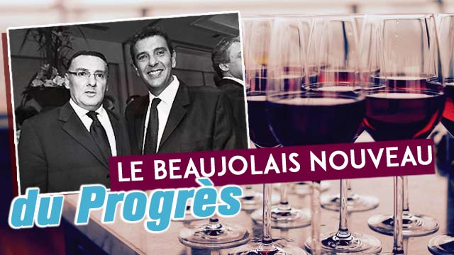 Beaujolais nouveau du Progres au Sofitel