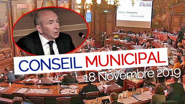 Conseil Municipal du 18/11/2019