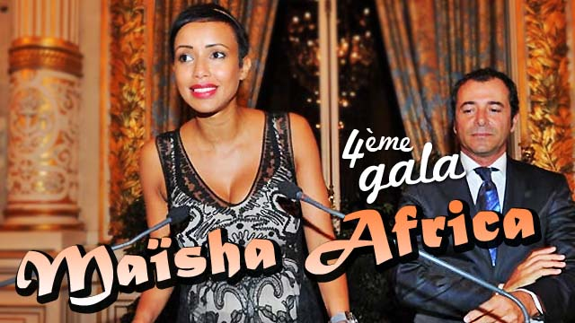 4eme GALA Maisha Africa présidé par Sonia Rolland