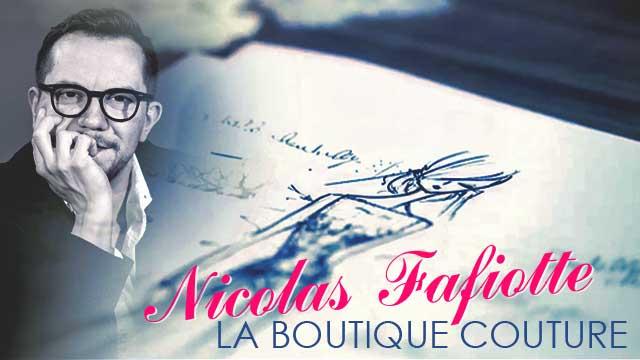 Créateur de robes de mariées à Lyon - Boutique Nicolas Fafiotte