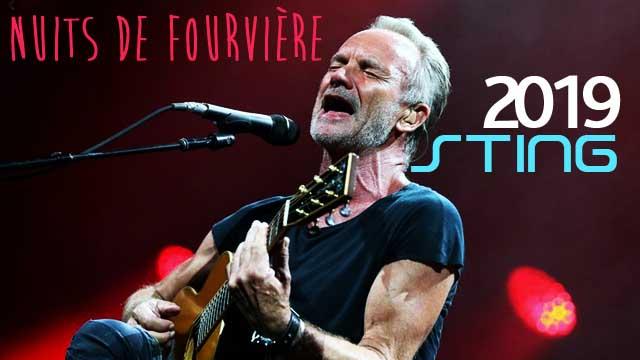 Sting - Roxanne au Nuits de Fourvière 2019