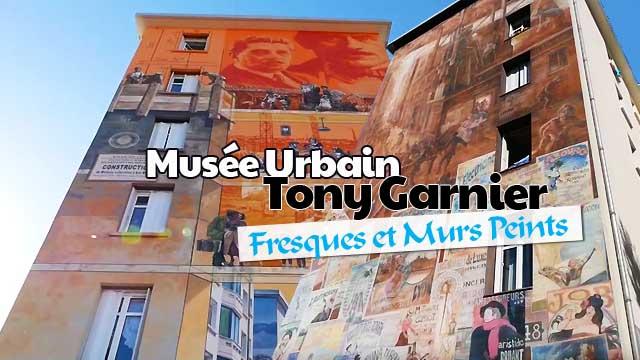 Fresques et Murs Peints - Musée Urbain Tony Garnier
