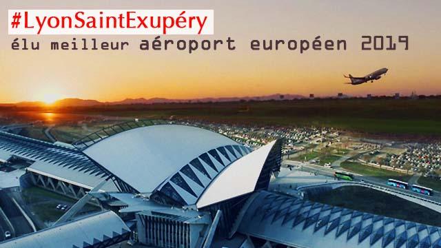 Lyon-Saint Exupéry, meilleur aéroport européen 2019