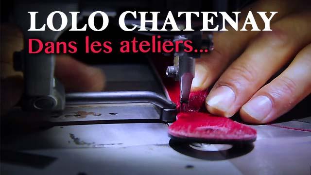Dans l'intimité des ateliers LOLO CHATENAY - La Poignée