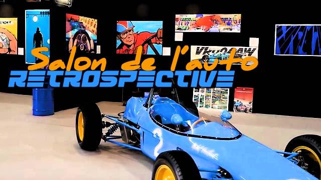 Salon de l'automobile de Lyon 2019, les rétrospectives historiques !