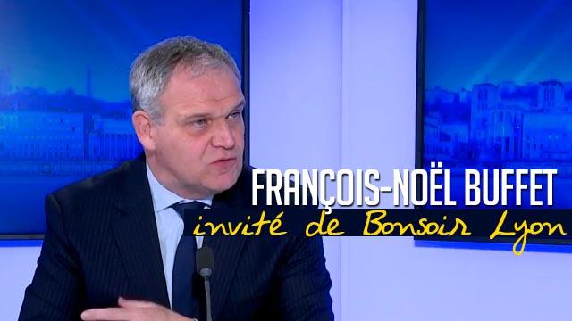 8 Janvier 2020 : Élections métropolitaines: François-Noël Buffet, candidat Les Républicains, invité de Bonsoir Lyon