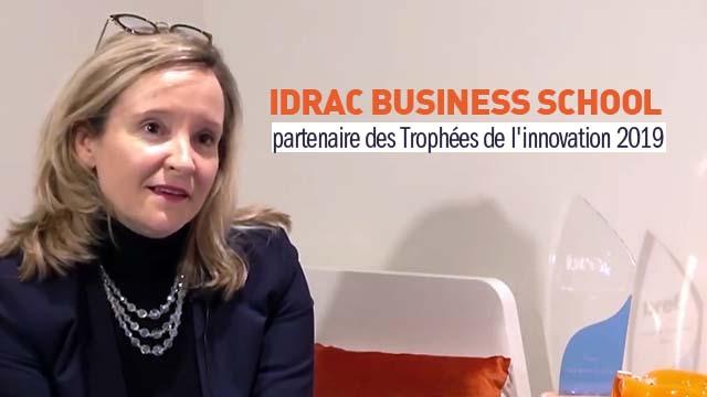 IDRAC Business School, partenaire des Trophées de l'innovation 2019
