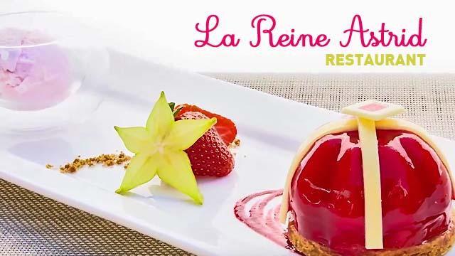 Découverte du Lounge Restaurant - Warwick Reine Astrid