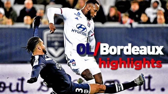 Girondins de Bordeaux - Olympique Lyonnais (1-2) - Resumé