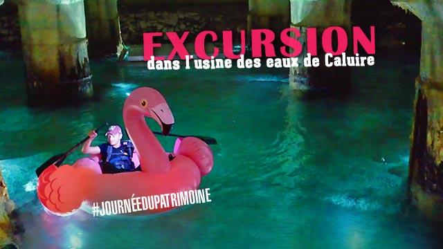 Journées du Patrimoine 2019 : urbex dans l'usine des eaux de Caluire