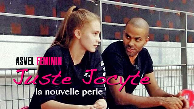 18 Décembre 2019 : Juste Jocyte, la nouvelle perle lituanienne de l'ASVEL Féminin