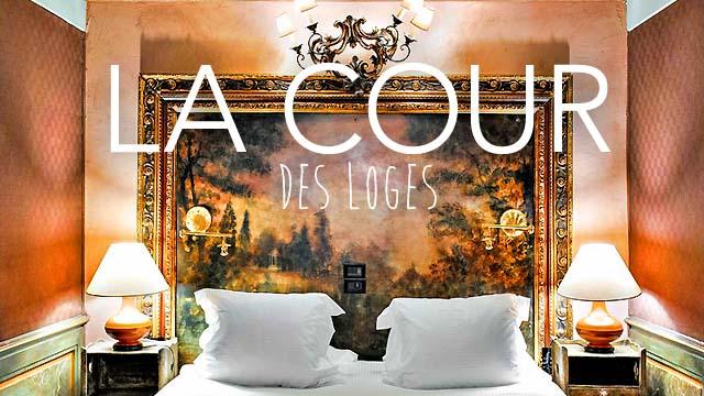 Cour des Loges hôtel 5 étoiles Lyon