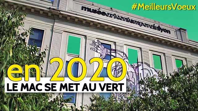 MAC de Lyon : Meilleurs vœux 2020