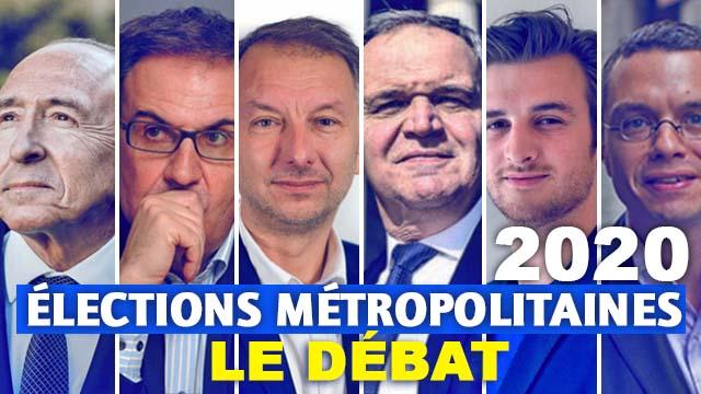 11 Mars 2020 : Elections métropolitaines de Lyon : voir ou revoir le débat diffusé sur France 3