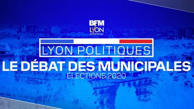 05 Mars 2020 - Municipales à Lyon : le grand débat sur BFM LYON,