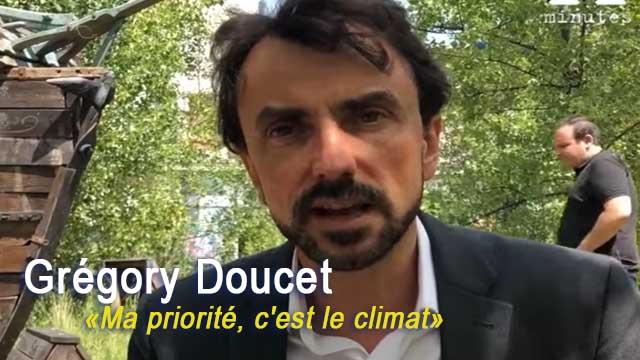 15.06.20 - Municipales 2020 à Lyon: «Ma priorité, c'est le climat», martèle Grégory Doucet